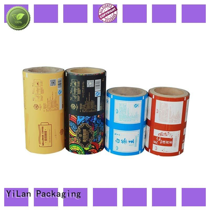 YiLan Packaging custom packaging film roll with quality assurance for indoor/outdoor