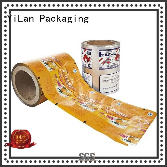 YiLan Packaging excellent printed packaging film with quality assurance for decoration