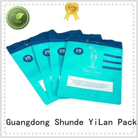 colorprinting stand pouch bag on sale for mask YiLan Packaging