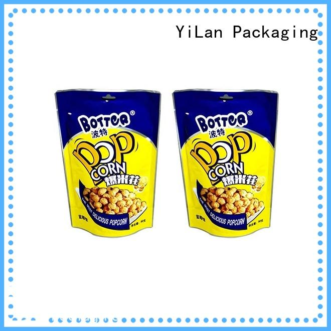 YiLan Packaging bag resealable food packaging factory for mask