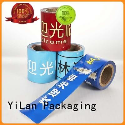 YiLan Packaging supplies laminated packaging films with quality assurance for indoor/outdoor