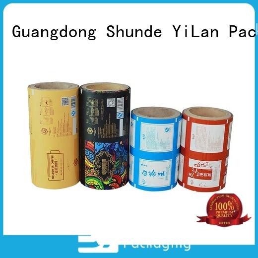 YiLan Packaging experienced printed packaging film for decoration