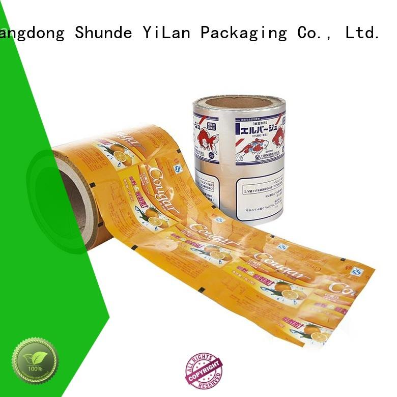 YiLan Packaging food packaging film roll with strict quality control system for indoor/outdoor