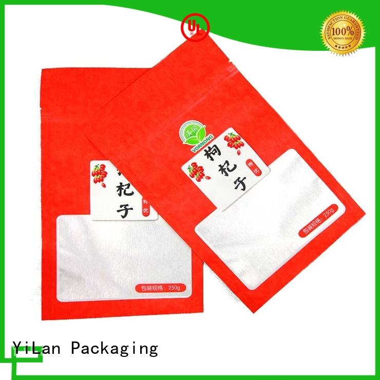 custom stand up pouch packaging dog on sale for pop corn