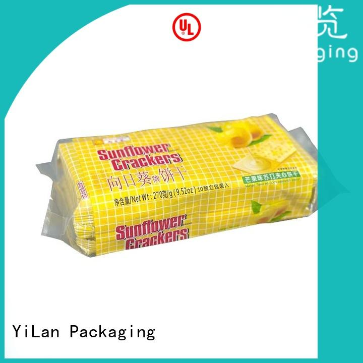 YiLan Packaging bag gusseted bags with strict quality control system for cookies