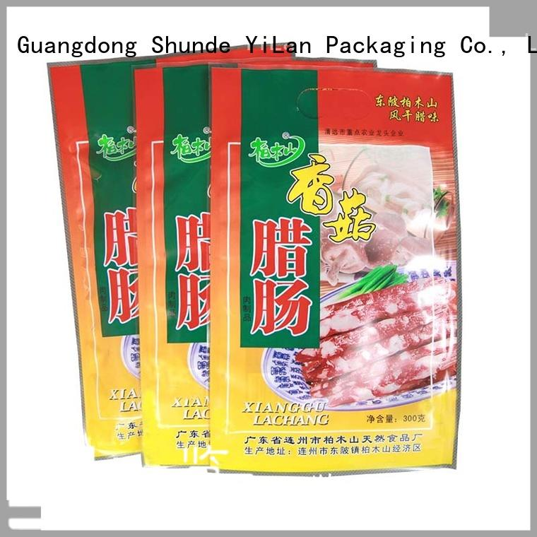 YiLan Packaging translucent food packaging bags with quality assurance for food