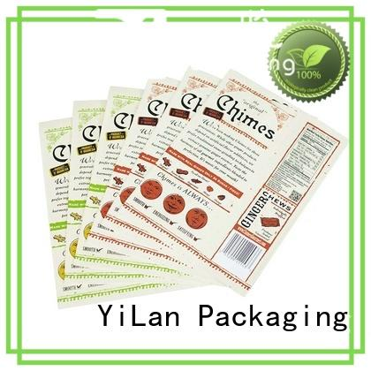 YiLan Packaging popcorn resealable pouch bags with strict quality control system for food