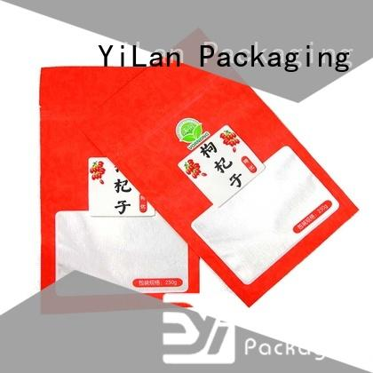 YiLan Packaging Wholesale food packaging bags Suppliers for food