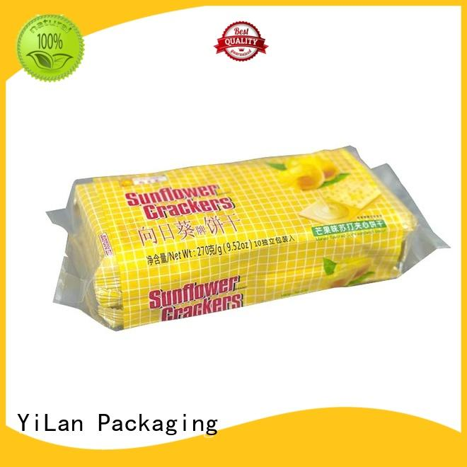 YiLan Packaging gusseted flexible pouches packaging with quality assurance for cookies