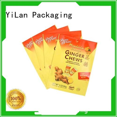 online resealable food packaging bag with quality assurance for food