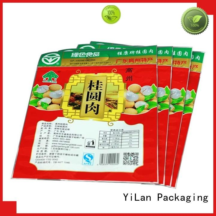 YiLan Packaging matte food packaging bags with quality assurance for pop corn