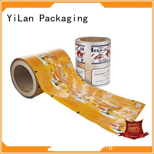 professional printed packaging film electrical with quality assurance for advertising