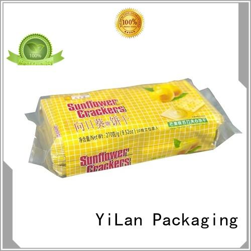 side fin seal pouch for cookies YiLan Packaging