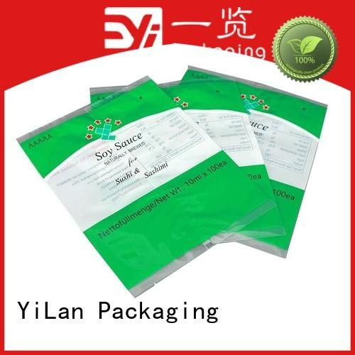 YiLan Packaging reliable flexible pouches packaging with quality assurance for gift