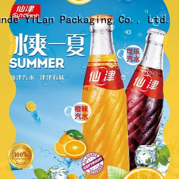 YiLan Packaging sticker sticker poster with quality assurance for door