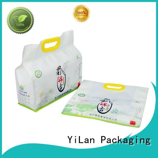 eight side seal pouch customization color Bulk Buy nuts YiLan Packaging