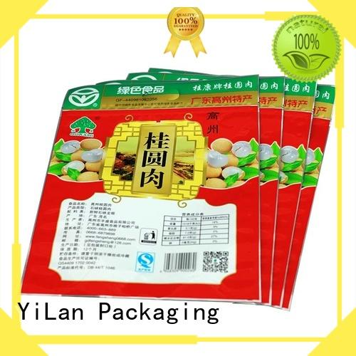 sides stand up pouch bags bag YiLan Packaging