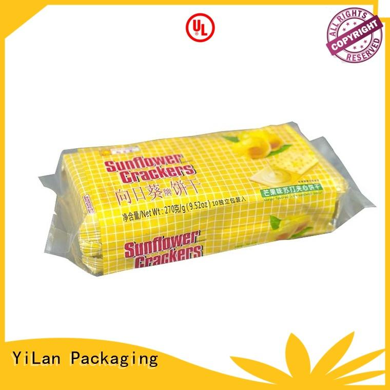 gusseted center seal pouch with quality assurance for coffee bag YiLan Packaging