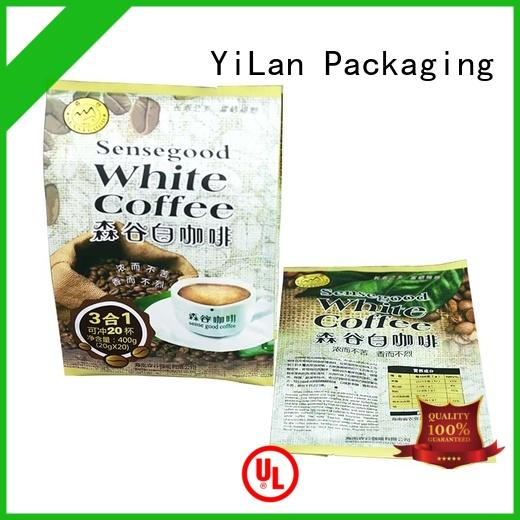 YiLan Packaging exquisite fin seal packaging easy to open for gift
