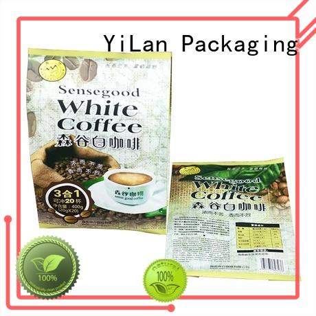 YiLan Packaging exquisite gusseted bags with strict quality control system for gift