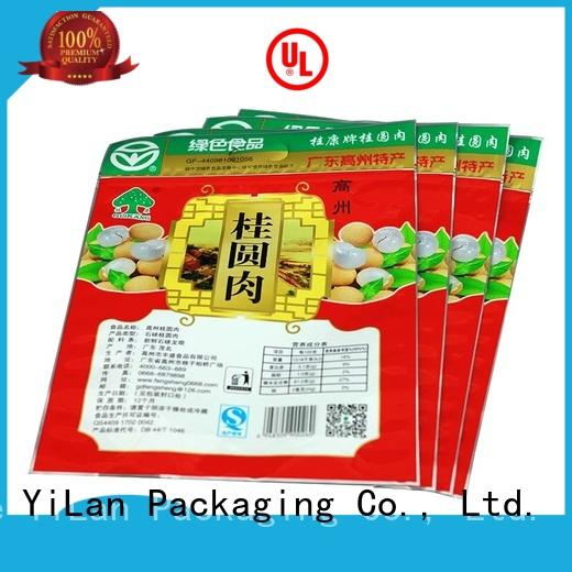 YiLan Packaging matte 3 side seal pouch on sale for candy bag