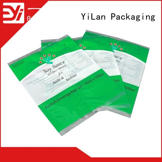 YiLan Packaging bag gusseted bags company for gift