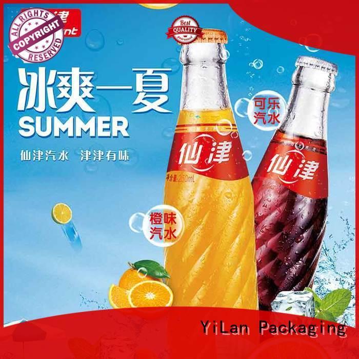 customization convenient advertising poster YiLan Packaging manufacture