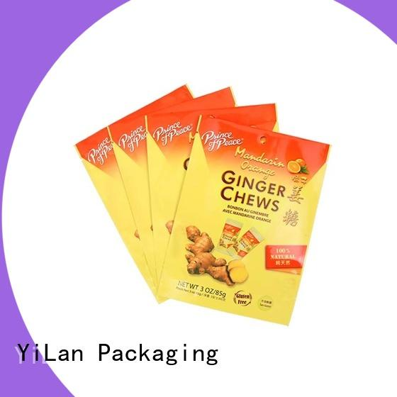 YiLan Packaging Custom custom stand up pouches manufacturers for mask