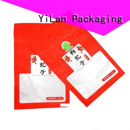 YiLan Packaging three stand up pouch bags Supply for food