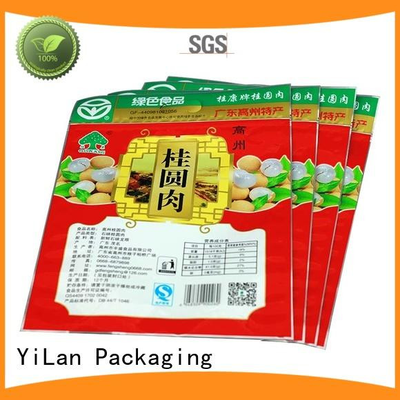 YiLan Packaging advanced stand up pouch packaging sealed