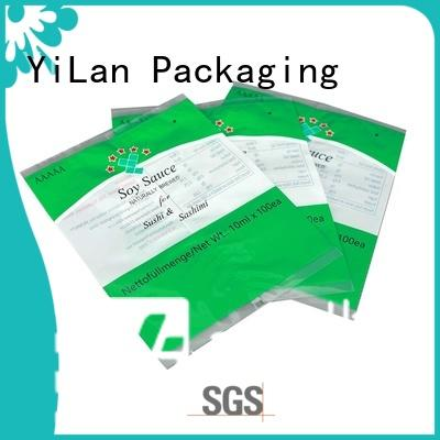 YiLan Packaging pouch flexible pouches packaging easy to open for cookies