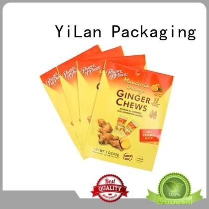 YiLan Packaging standup resealable packaging on sale for mask