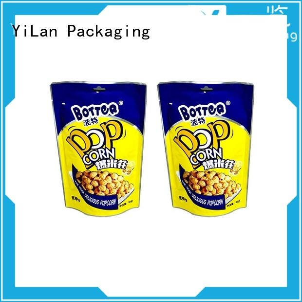 Top resealable pouch bags zipper factory for gift