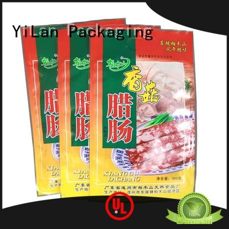 YiLan Packaging sides stand up pouch packaging with strict quality control system for pop corn