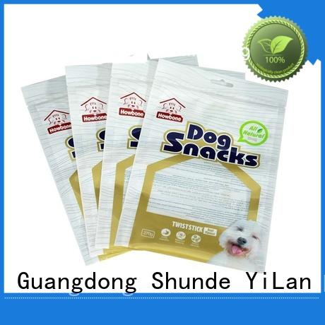 excellent three side seal pouch translucent with strict quality control system for pop corn