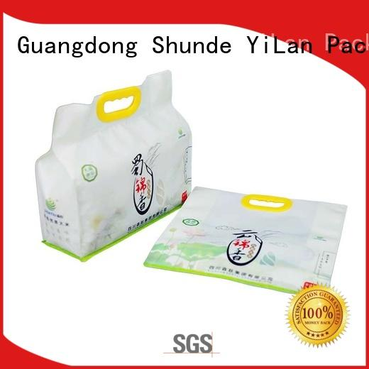 professional side gusset bag box with strict quality control system for food