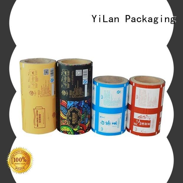 YiLan Packaging film printed packaging film for indoor/outdoor