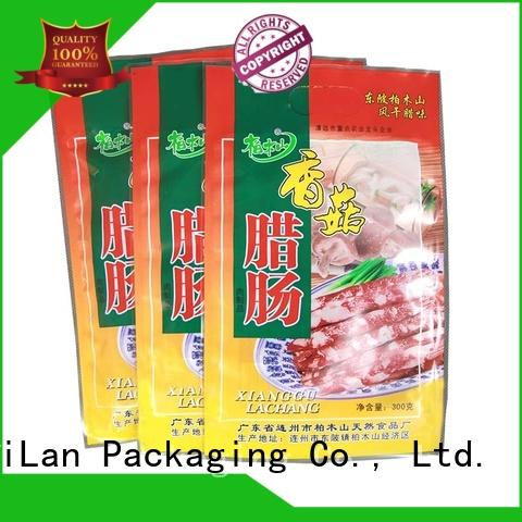 custom 3 side seal pouch iqian with strict quality control system for candy bag