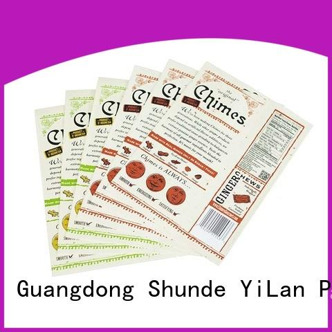 YiLan Packaging New resealable pouch bags manufacturers for mask