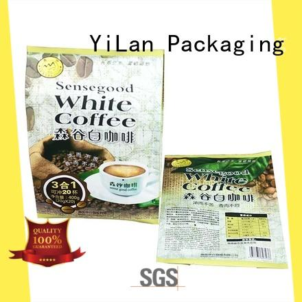 YiLan Packaging reliable gusseted bags with strict quality control system for backage