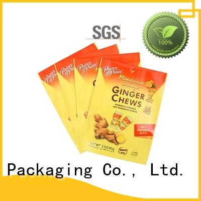 YiLan Packaging ginger stand up barrier pouches with quality assurance for mask