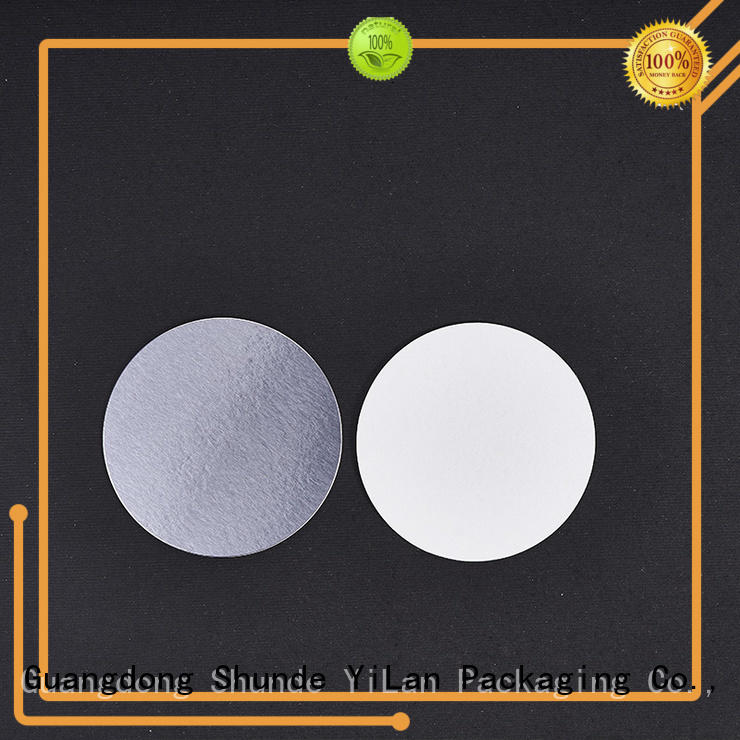 YiLan Packaging membrane seal liner easy to open for calcium tablet