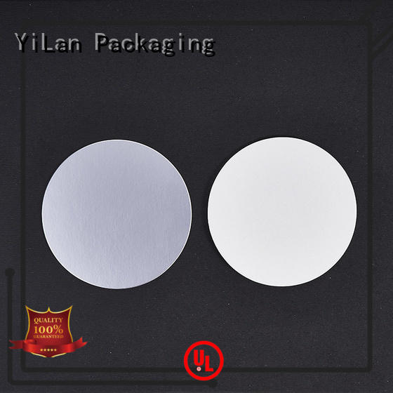 electromagnetic cap liner with strict quality control system for food YiLan Packaging