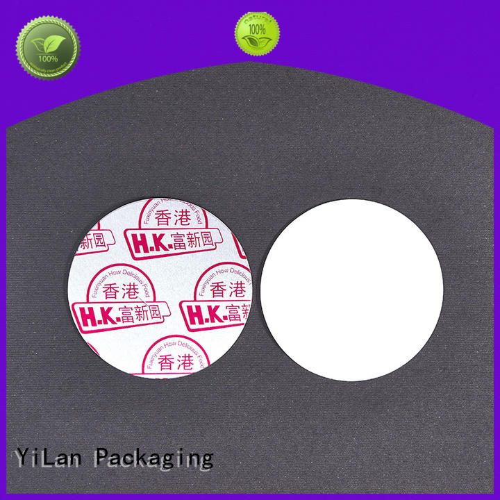 YiLan Packaging translucent induction liner easy to open for protection