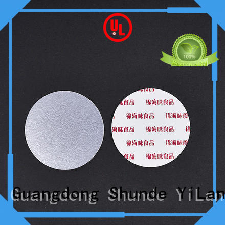 adhesive seal liner with quality assurance for calcium tablet YiLan Packaging