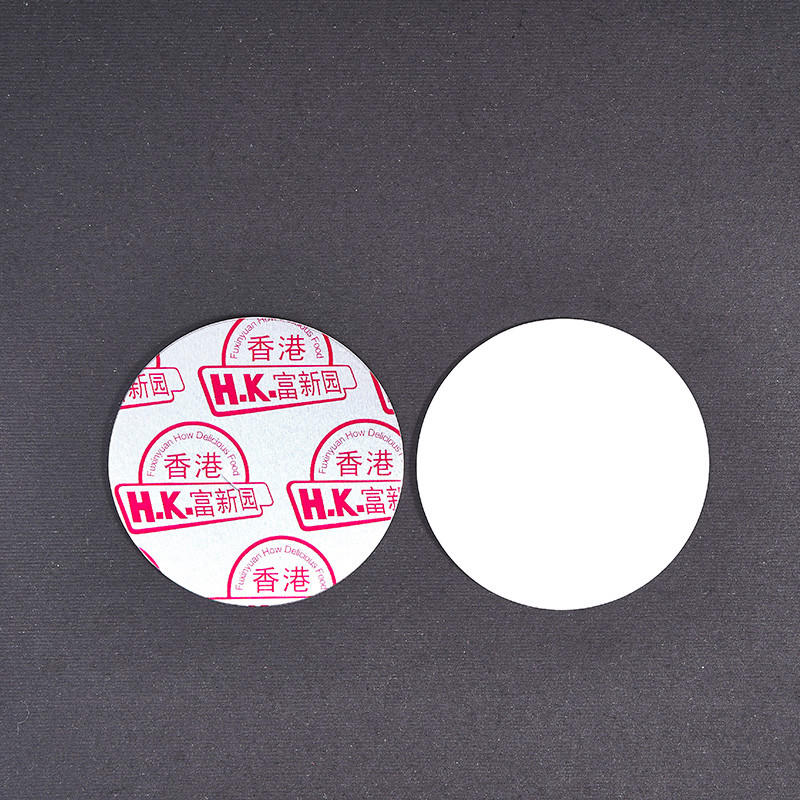 translucent induction seal liners printing with strict quality control system for protection