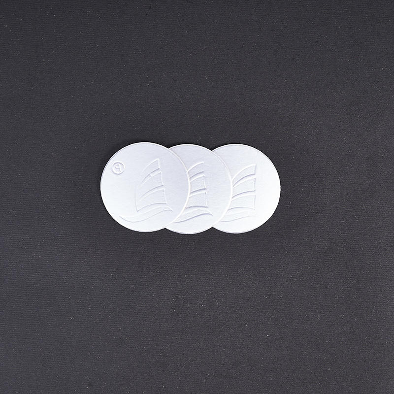 Thick cardboard stamp PE induction liner