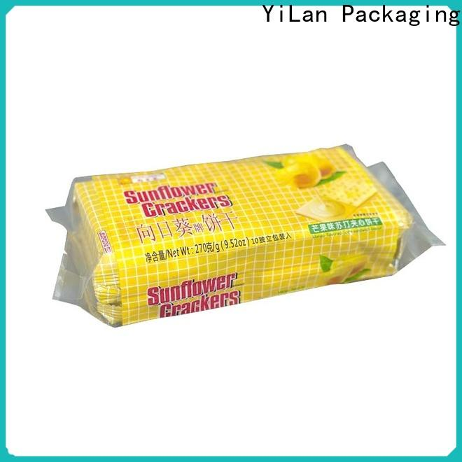 YiLan Packaging Latest fin seal packaging Suppliers for gift