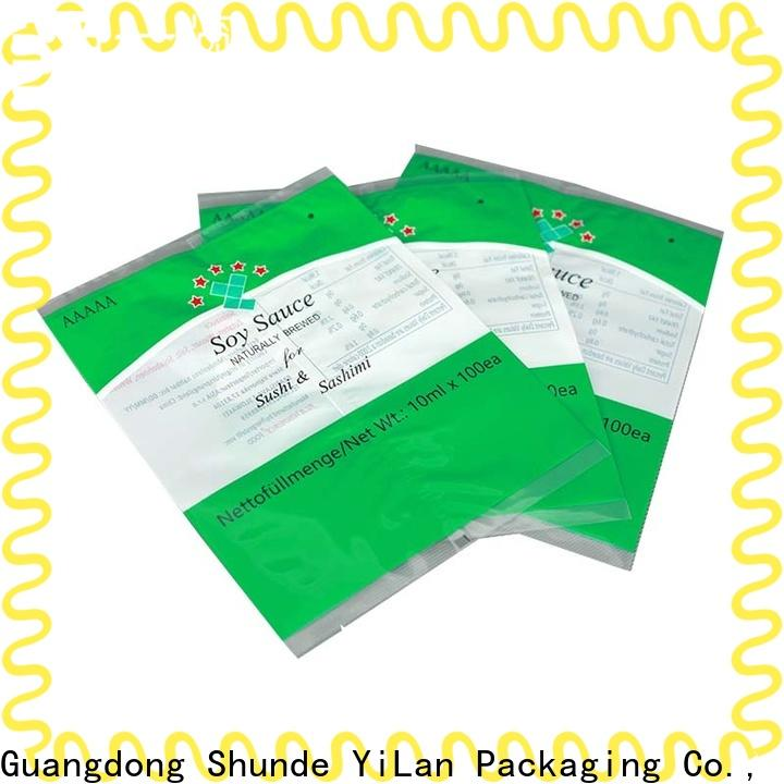 YiLan Packaging bag gusseted bags for business for cookies