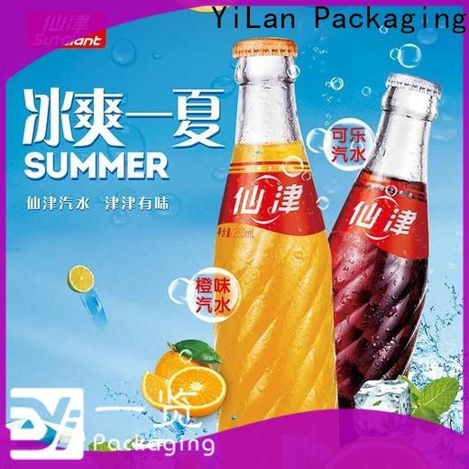 YiLan Packaging sticker sticker poster factory for broadcast